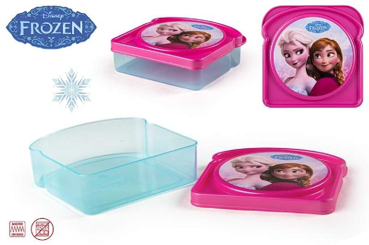 Svačinový Box Frozen 12 x 12 x 4 cm