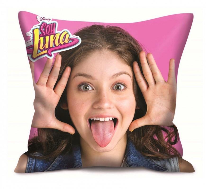 Polštář do dívčího pokoje růžový Soy Luna