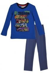 Pyžamo  Želvy Ninja Modro - Tm. Modré Vel. 3