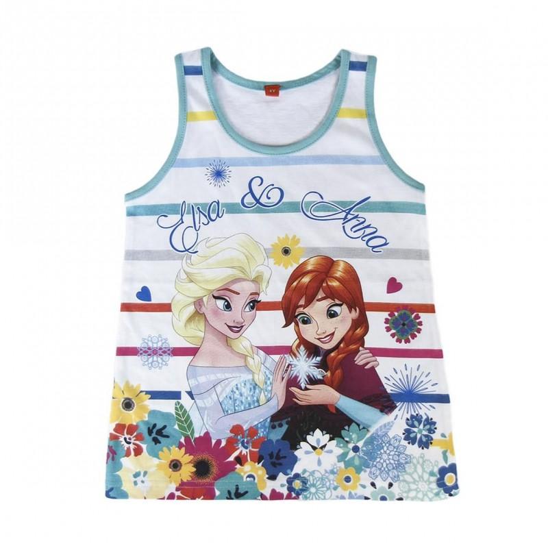 Dívčí Tričko / Tílko  Anna A Elsa Frozen / Ledové Království