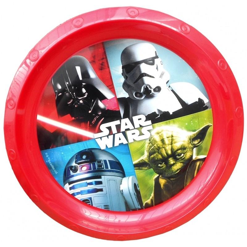 Plastový Talířek Star Wars / Červený