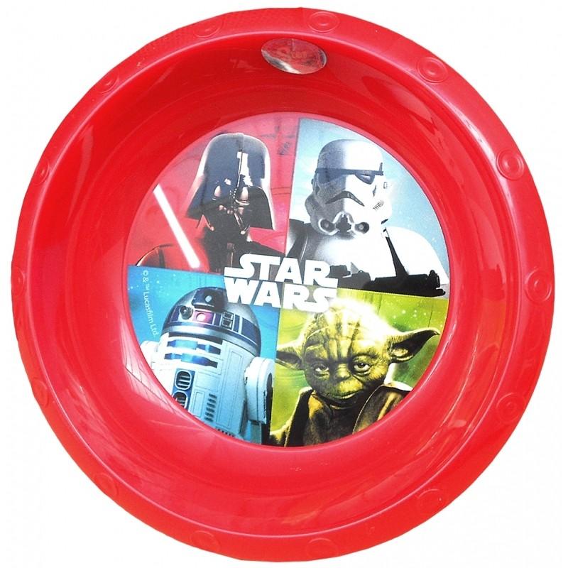 Dětská Miska Star Wars / Červená