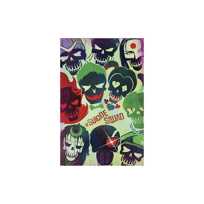 Plakát 61 x 91,5 cm Suicide Squad / Sebevražedný oddíl