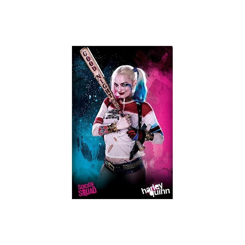 Plakát 61 x 91,5 cm Suicide Squad / Sebevražedný odd. Harley Quinn