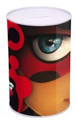 Kovová pokladnička 15 x 10 cm Miraculous Ladybug / Zázračná Beruška