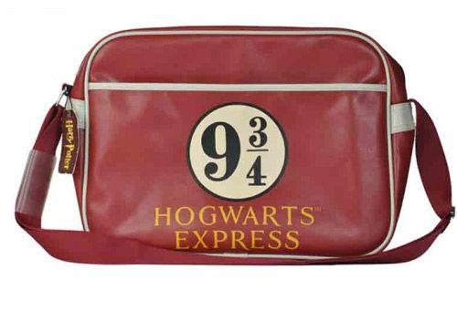Taška Na Rameno Harry Potter Retro 9 3/4 Červená 38 Cm