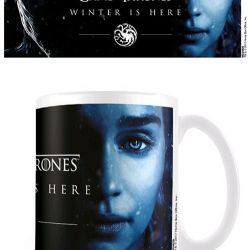 Hrnek Keramický Hra O Trůny / Game Of Thrones Winter Is Here Deanerys Bílý 315 Ml