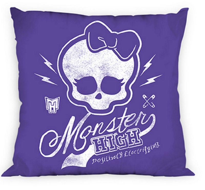 Povlak Na Polštář Monster High  40 X 40 Cm Fialový