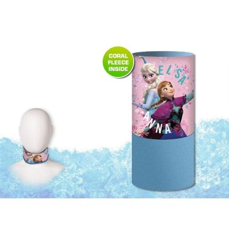 Fleecový Nákrčník Pro Holky Anna A Elsa Frozen / Ledové Království