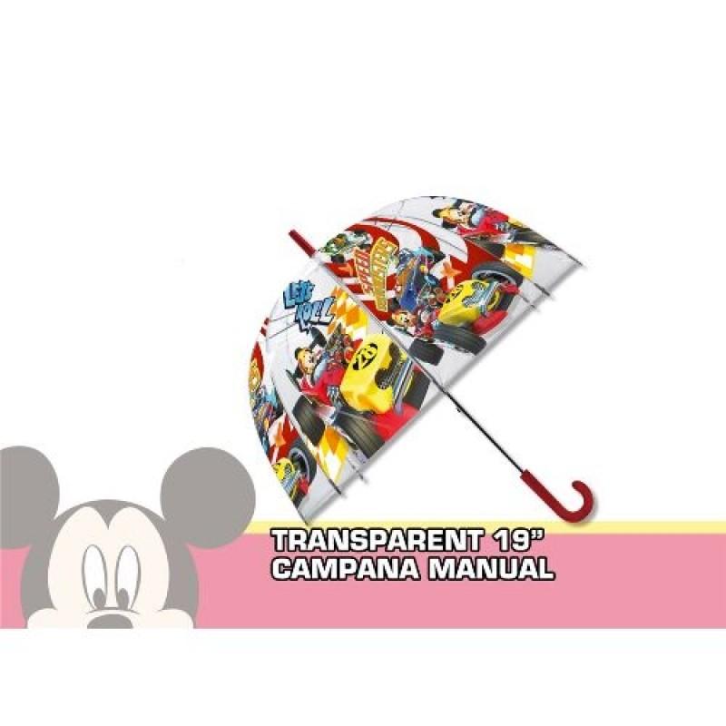 Průhledný Dětský Deštník Mickey Mouse Formule