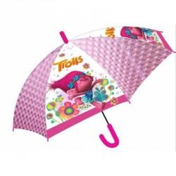 Automatický deštník růžový Poppy Trolls / Trollové