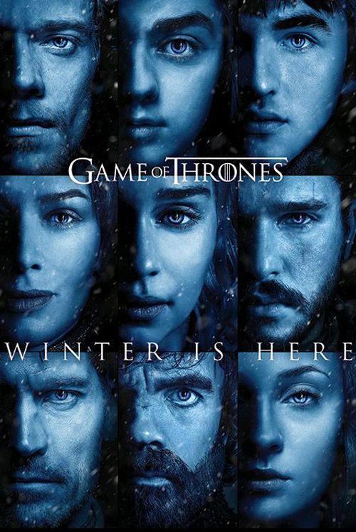 Plakát Hra O Trůny / Game Of Thrones Winter Is Here 61 X 91,5 Cm