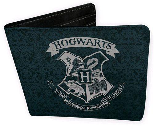 Peněženka Rozkládací Harry Potter Hogwarts Černá