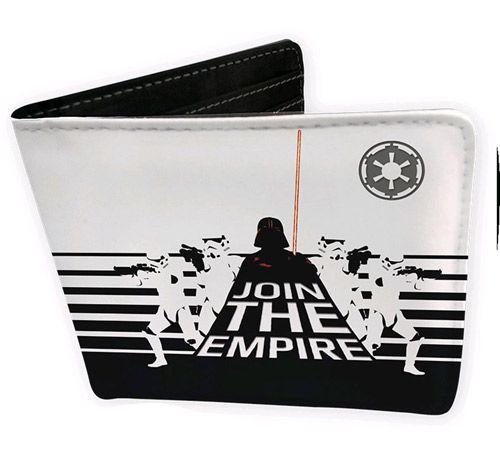 Peněženka Rozkládací Star Wars Join The Empire Černo Bílá