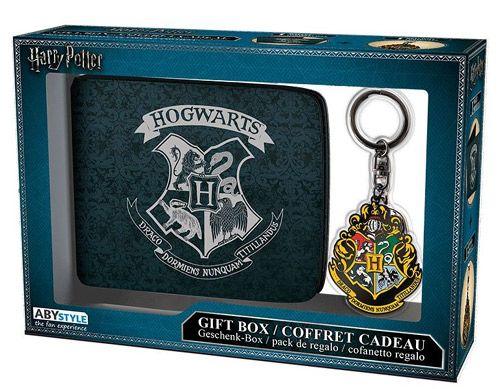 Peněženka Rozkládací S Přívěskem Harry Potter Hogwars