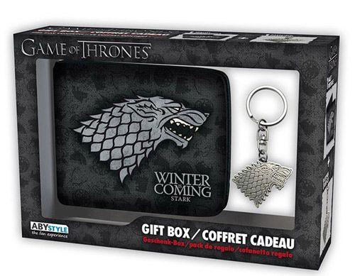 Peněženka Rozkládací S Přívěskem Hra O Trůny / Game Of Thrones Stark