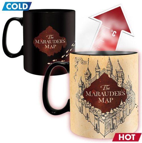 Hrnek Velký Měnící Harry Potter Marauders Map 460 Ml