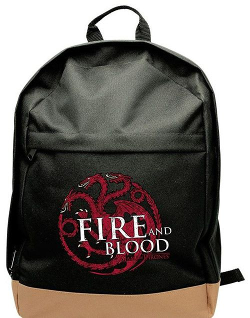 Batoh Hra O Trůny / Game Of Thrones Targaryen Černý
