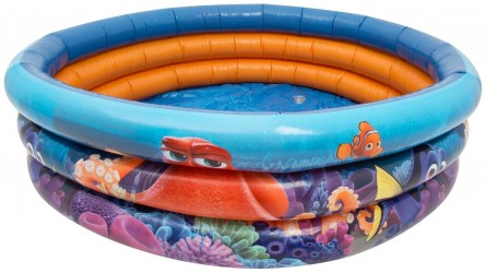Dětský Nafukovací Bazén Modrý Hledá Se Dory 100 Cm