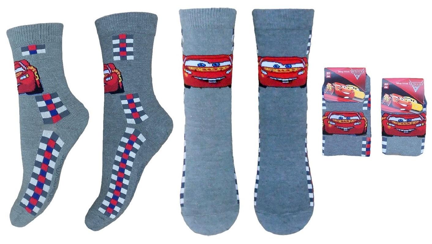 Chlapecké Ponožky Cars / Auta S Bleskem Mcqueenem