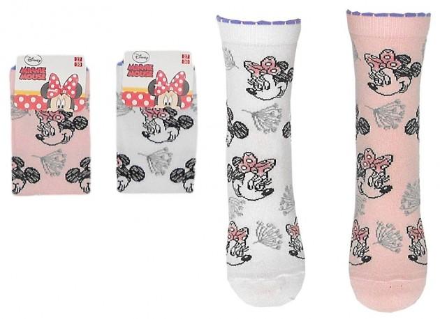 Dívčí ponožky s Minnie Mouse / Myškou Minnie / vecizfilmu