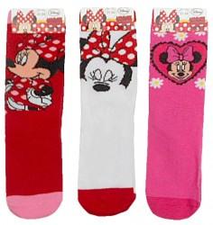 Dívčí ponožky s obrázky Minnie Mouse / Myškou Minnie / vecizfilmu