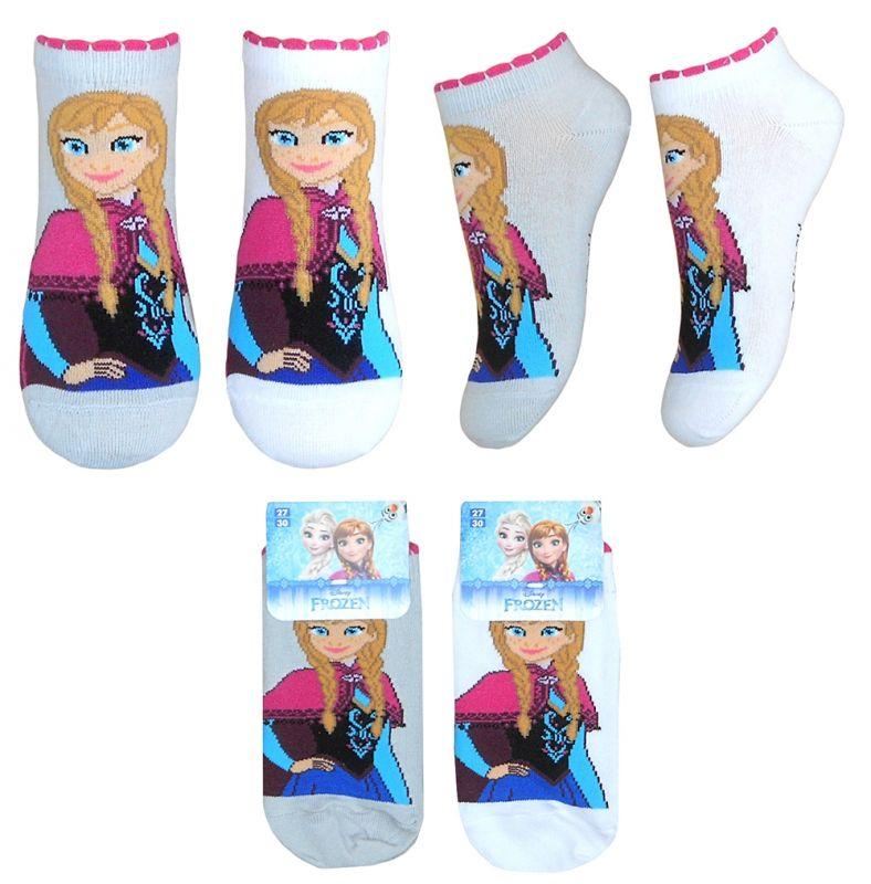 Dívčí Kotníkové Ponožky Anna Frozen / Ledové Království