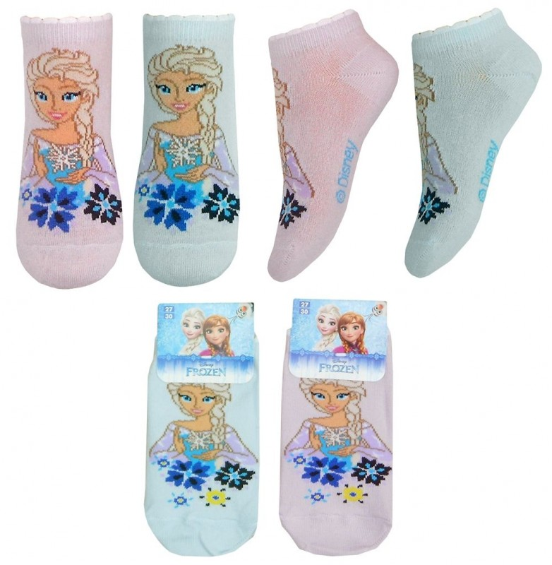 Dívčí Kotníkové Ponožky Elsa Frozen / Ledové Království
