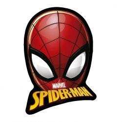 3D Polštář Spiderman Červený 35 Cm