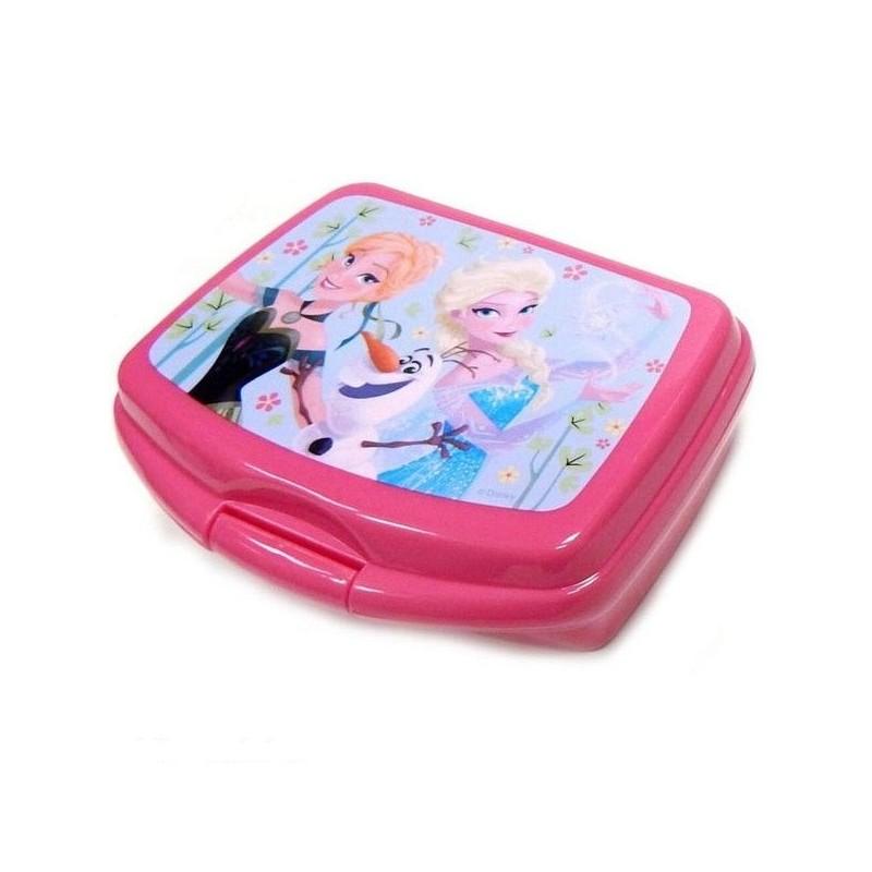 svačinový box růžový Frozen / Ledové království