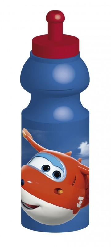 Sportovní láhev na vodu s letadly Super Wings 350 ml