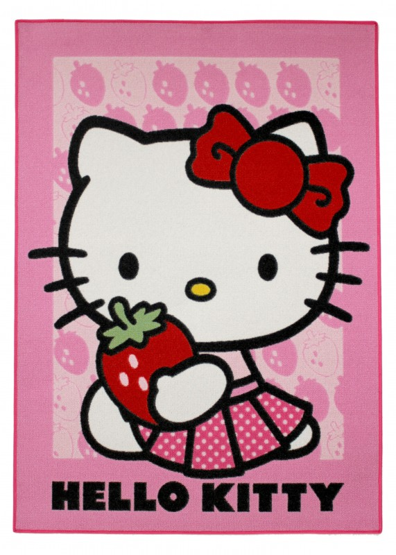 Koberec Hello Kitty – Strawberry 133  X 95 Cm