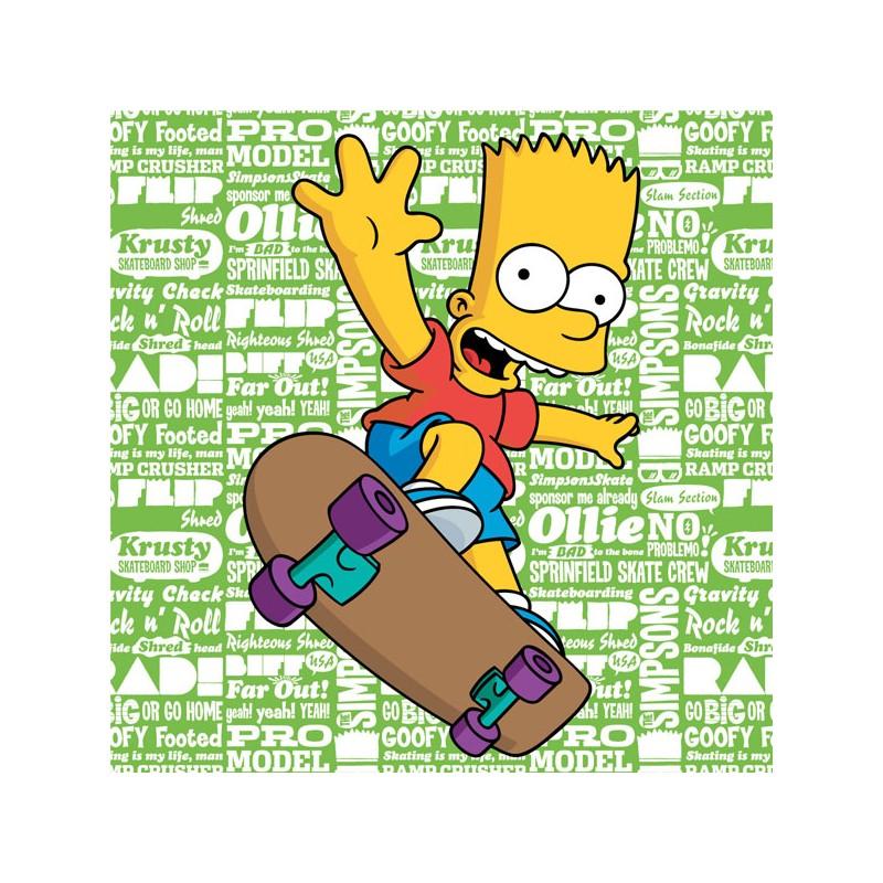 Polštářek Bart Simpson Green / Simpson