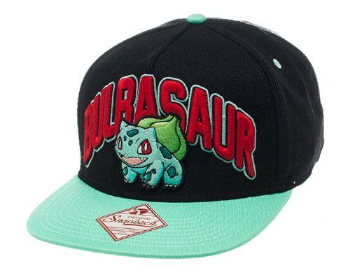 9cbd0ba91 Čepice Baseballová Kšiltovka Rap Pokemon Bulbasaur