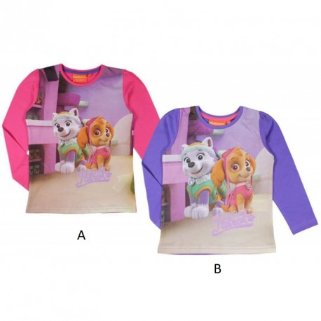 Dívčí tričko s dlouhým rukávem Paw Patrol / Tlapková patrola / vecizfilmu