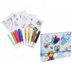 Gelové barvy a samolepky Frozen  / Ledové království