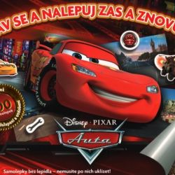 Album samolepkové Cars / Auta 100 samolepek