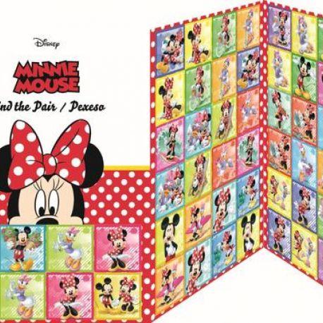Pexeso Minnie Mouse 28 dvojic