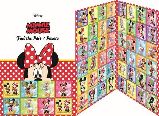 Pexeso Minnie Mouse 28 dvojic