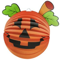 Lampion dýně 3D Halloween 25 cm