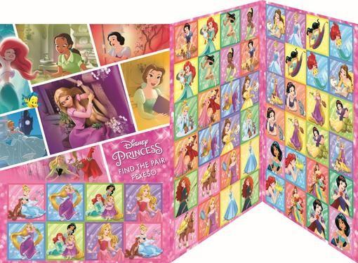 Pexeso Disney Princezny 28 dvojic