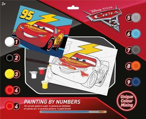 Malování dle čísel Auta / Cars