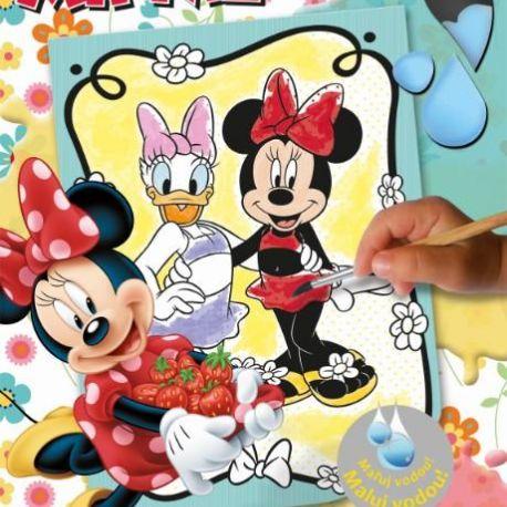Omalovánka Maluj vodou Minnie Mouse