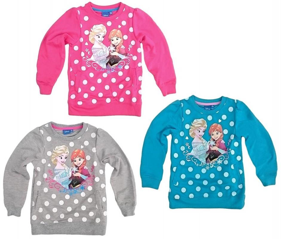 Dívčí svetr Elsa a Anna Frozen / Ledové království