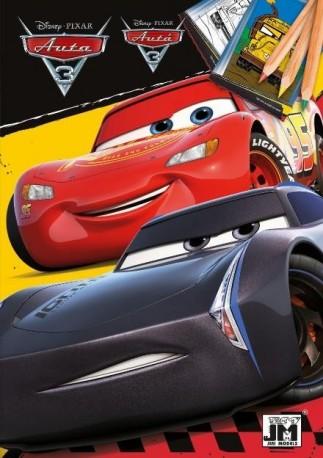 omalovánka A5 Cars 3