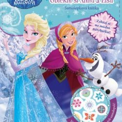 Kreativní kniha Oblékni si Annu a Elsu FROZEN / Ledové království
