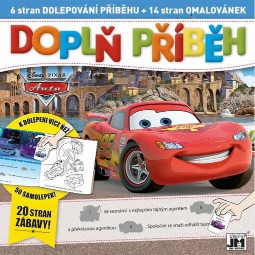 Omalovánka Doplň příběh Auta / Cars