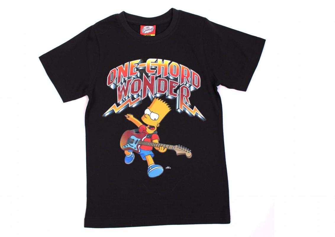 Chlapecké tričko s krátkým rukávem Bart Simpson Music