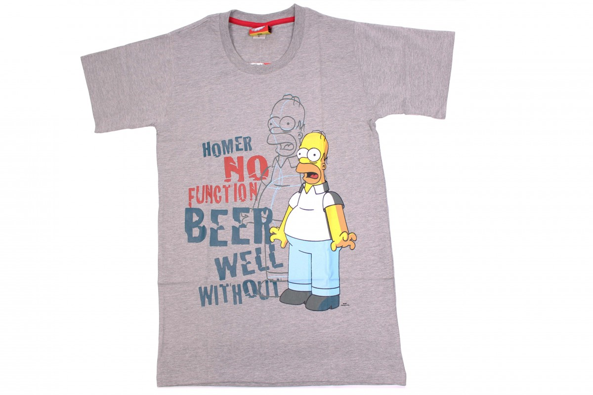 f553931d707 Pánské tričko s krátkým rukávem Homer Simpson S   M   L   XL