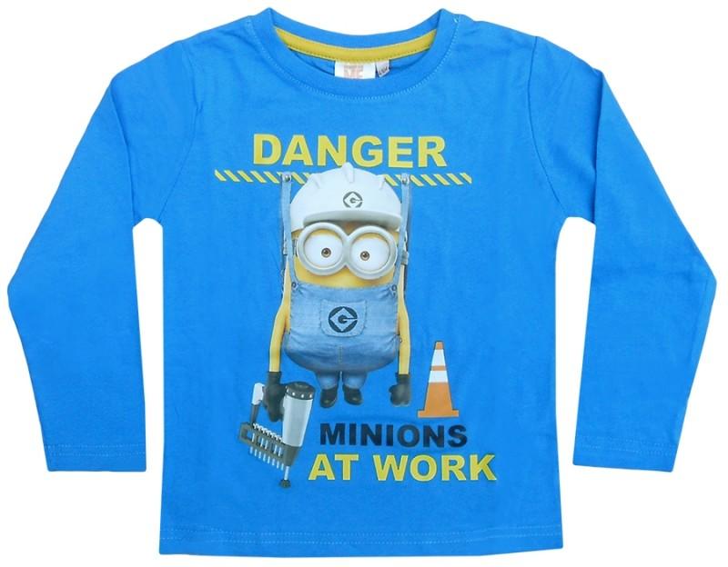 Tričko S Dlouhým Rukávem Mimoni Modré